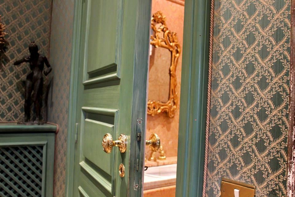 Il vestiaire e i servizi ospiti
